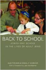 Back to School: Jewish Day School in the Lives of Adult Jews