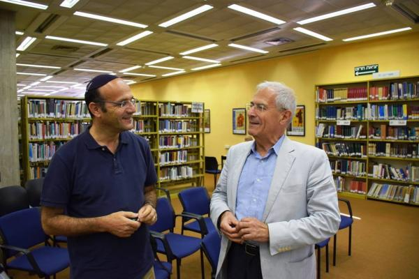 Alex Pomson and Sergio DellaPergola